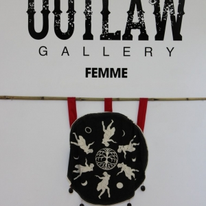Femme group show at the Outlaw Gallery