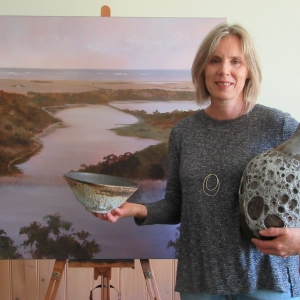 Judy Rauert 'Tower Hill Inspired' at the Outlaw Gallery